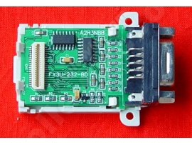 FX3U-232-BD RS232 interface boards for Mitsubishi FX3U, anti-static and anti-surge